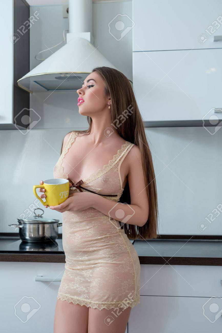 American sexy housewife