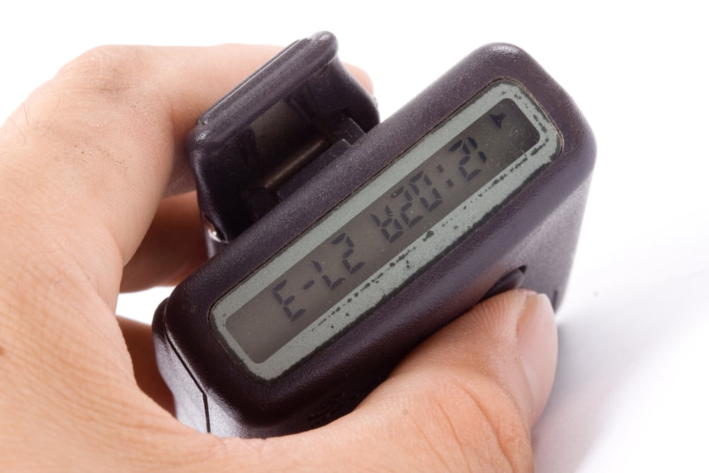 Show me a picture of a pager